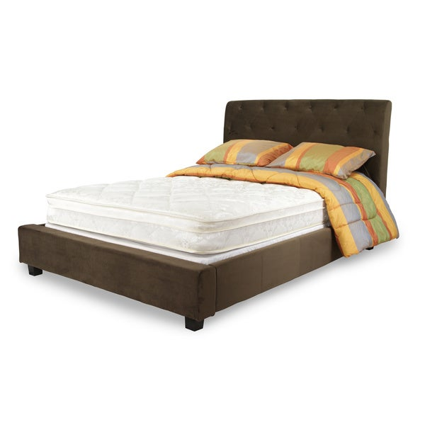 Dreamax Quilted Euro PillowTop 8 inch Twin size
