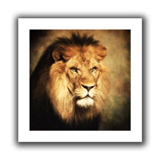 ArtWall Dragos Dumitrascu 'The King 2' Unwrapped Canvas Art