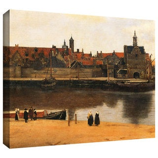 Johannes Vermeer 'View of Delft' Gallery-Wrapped Canvas Art