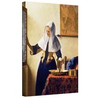 Johannes Vermeer 'Young Woman with a Water Jug' Gallery-Wrapped Canvas