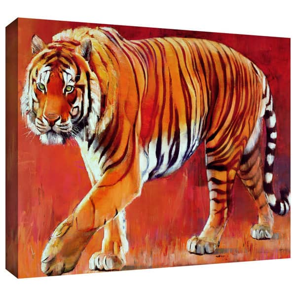 Artwall Mark Adlington Bengal Tiger Gallery Wrapped Canvas Overstock 8856313