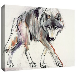 ArtWall Mark Adlington 'Wolf' Gallery-Wrapped Canvas (4 options available)