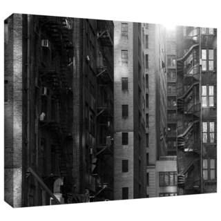 ArtWall John Black 'Buildings' Gallery-Wrapped Canvas