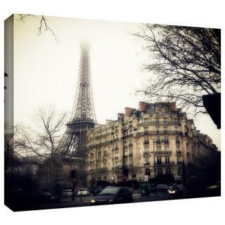 ArtWall 'Paris' By John Black Gallery-Wrapped Canvas Wall Art