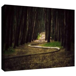 ArtWall John Black 'Trees' Gallery-Wrapped Canvas