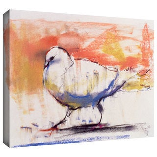 ArtWall Mark Adlington 'Walking Dove' Gallery-Wrapped Canvas