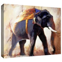 ArtWall Mark Adlington 'Shivaji' Gallery-Wrapped Canvas