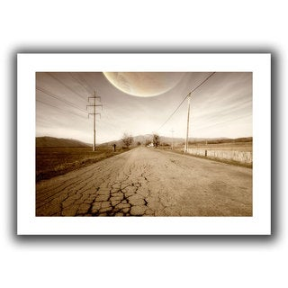 ArtWall Dragos Dumitrascu 'The Road-Planet Side' Unwrapped Canvas (4 options available)