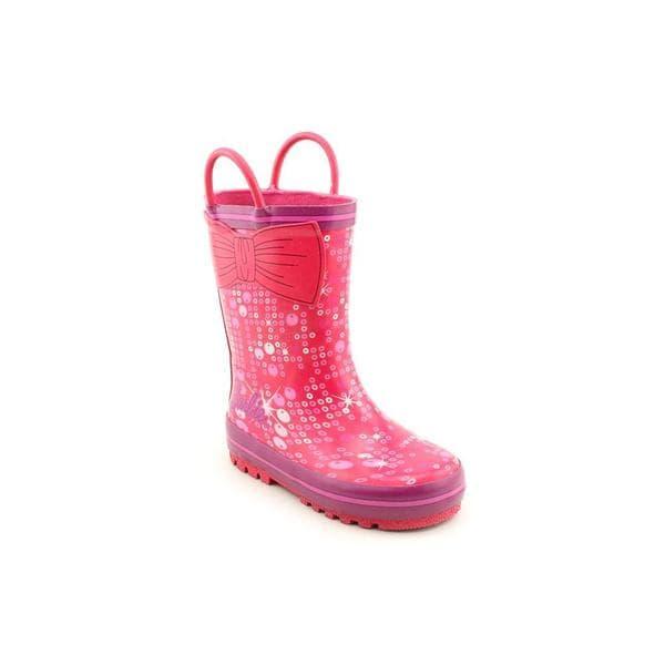 Shop Barbie Girl Toddler Barbie Rainboot Rubber Boots