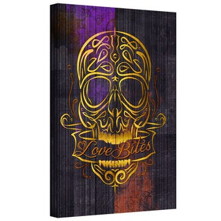 ArtWall Greg Simanson 'Love Bites' Gallery-Wrapped Canvas