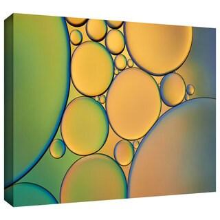 ArtWall Cora Niele 'Orange Green' Gallery-Wrapped Canvas