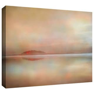 ArtWall Cora Niele 'Landscape Sunset' Gallery-Wrapped Canvas