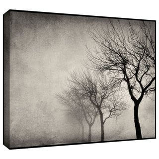 ArtWall Cora Niele 'Early Morning Sepia' Gallery-Wrapped Canvas