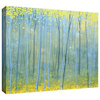 Art Wall Herb Dickinson 'Ginko Forest' Gallery-Wrapped Canvas - multi