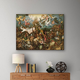 ArtWall Pieter Bruegel 'The Fall of the Rebel Angels' Gallery-Wrapped Canvas