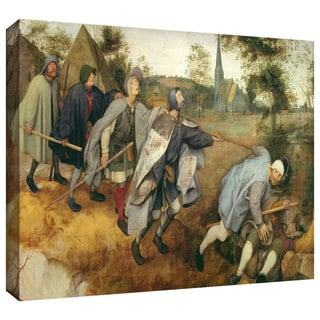 ArtWall Pieter Bruegel 'Parable of the Blind' Gallery-Wrapped Canvas