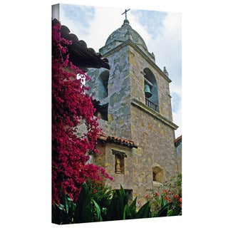 ArtWall Kathy Yates 'Mission Tower' Gallery-Wrapped Canvas
