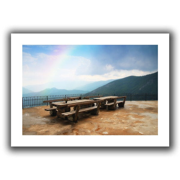 ArtWall Dragos Dumitrascu 'Morning Glory 2013' Unwrapped Canvas