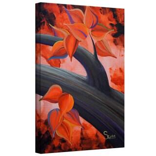 ArtWall Shiela Gosselin 'Life Journey 3' Gallery-Wrapped Canvas