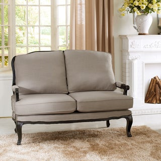 Baxton Studio Antoinette Classic Antiqued French Loveseat
