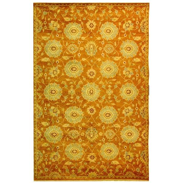 Safavieh Hand-knotted Samarkand Multi Wool Rug - 9' x 12'