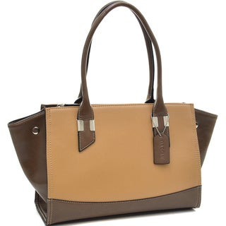 Dasein Convertible Two-tone Shoulder Bag