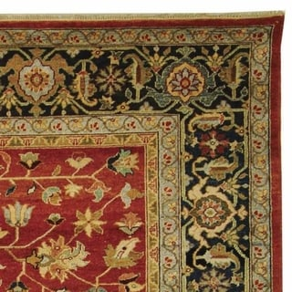 Safavieh Couture Hand-knotted Samarkand Durkje Traditional Oriental Wool Rug with Fringe