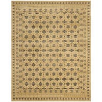 Safavieh Hand-knotted Marrakech Ivory/ Blue Wool Rug - 10' x 14'