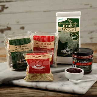 Eichten's Family Farm Gourmet Soup Assorment with Bread and Jam