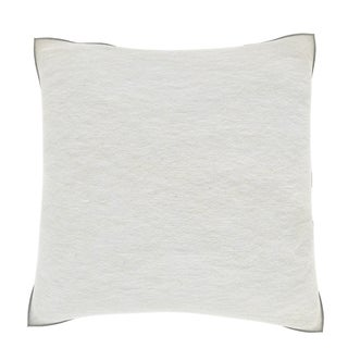 White Textured Paper 18-inch Velour Throw Pillow