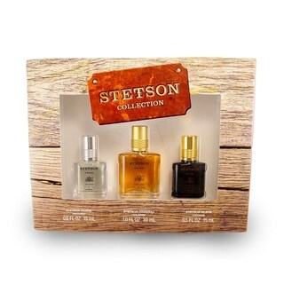 Coty Stetson Collection Men's 3-piece Gift Set
