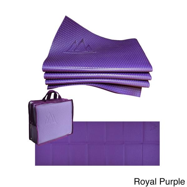 Khataland YoFoMat Extra Long PRO Folding Eco Yoga Mat