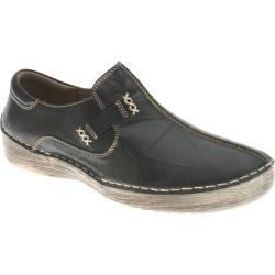 Women's Spring Step Coed Black Leather