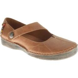 Women's Spring Step Debutante Tan Leather