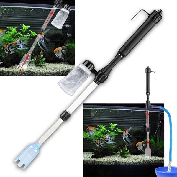 Insten Aquarium Fish Tank Gravel Siphon Vacuum Cleaner