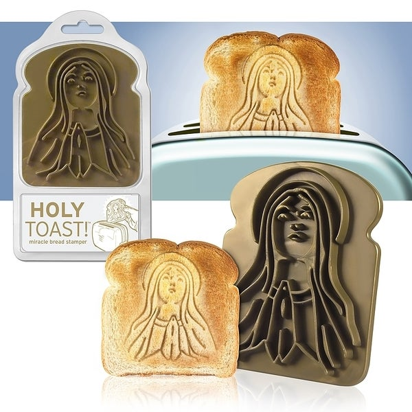 Fred & Friends Holy Toast Bread Stamper