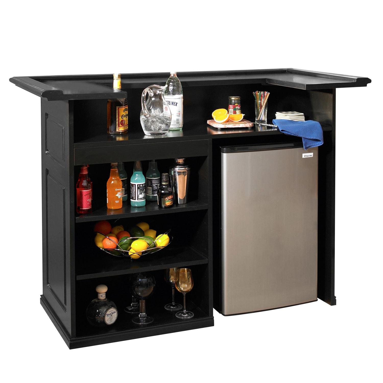 Black Mini Bar Home Bars