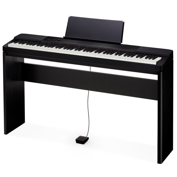 casio 88 key touch sensitive privia digital piano with stand free shipping today overstock. Black Bedroom Furniture Sets. Home Design Ideas