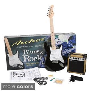 Archer SS10 Blues & Rock Jr. Electric Guitar Package https://ak1.ostkcdn.com/images/products/8859235/Archer-SS10-Blues-Rock-Jr.-Electric-Guitar-Package-P16086703.jpg?impolicy=medium