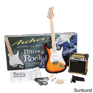 Archer SS10 Blues & Rock Jr. Electric Guitar Package