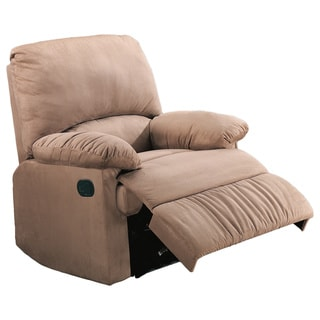 Casual Microfiber Recliner Chair
