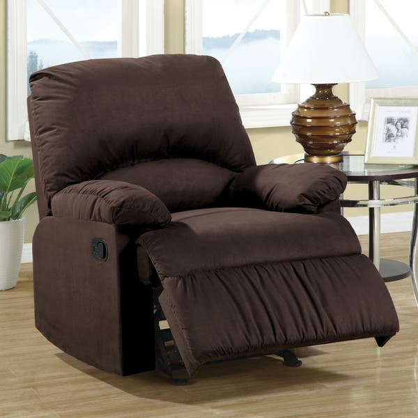Astounding Shop Coaster Company Casual Microfiber Recliner Chair Free Ibusinesslaw Wood Chair Design Ideas Ibusinesslaworg