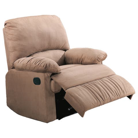 Coaster Company Casual Microfiber Recliner Chair