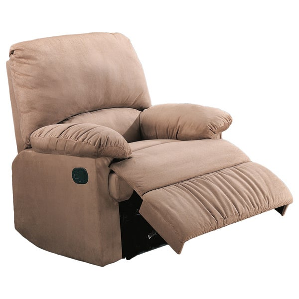 Shop Coaster Company Casual Microfiber Recliner Chair