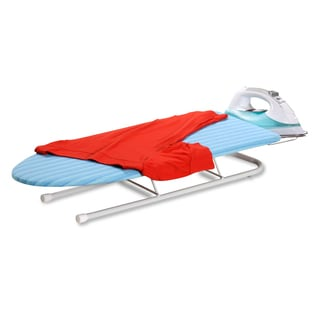 Honey Can Do Deluxe Collapsible Tabletop Ironing Board w/ Retractable Iron Rest