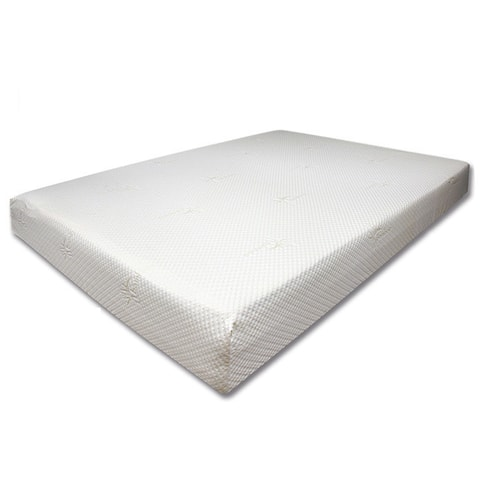 Dreamax Contemporary Queen White Mattress with Comfort by FOA