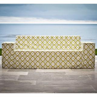 Softblock Moroccan Chartreuse Outdoor Sofa