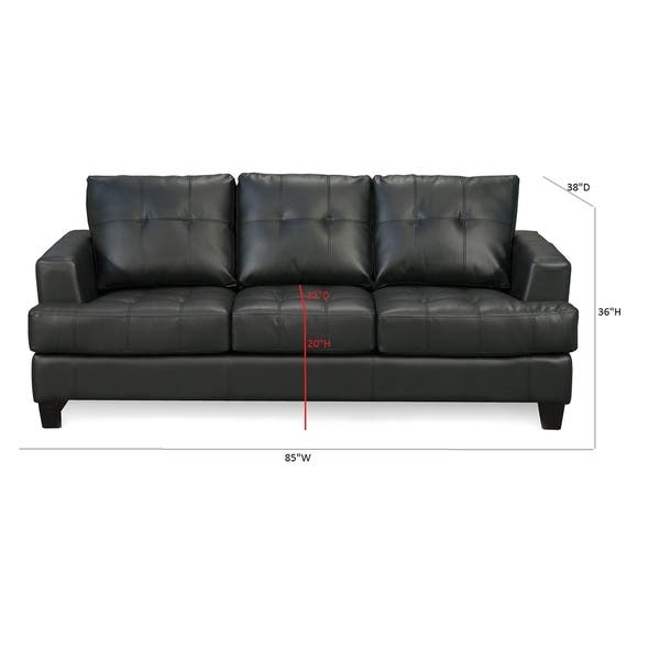 Pleasant Shop Coaster Company Samuel Contemporary Bonded Leather Sofa Gmtry Best Dining Table And Chair Ideas Images Gmtryco