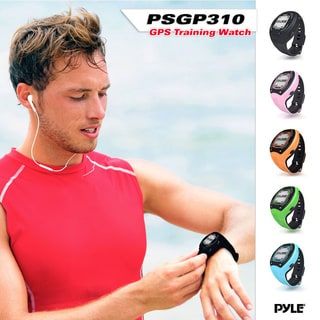 Pyle Multi-function Digital LED GPS Navigation Green Sports Training Watch