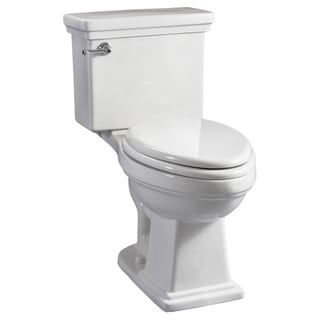 Hathaway White High-Efficiency ComfortFit ADA Toilet